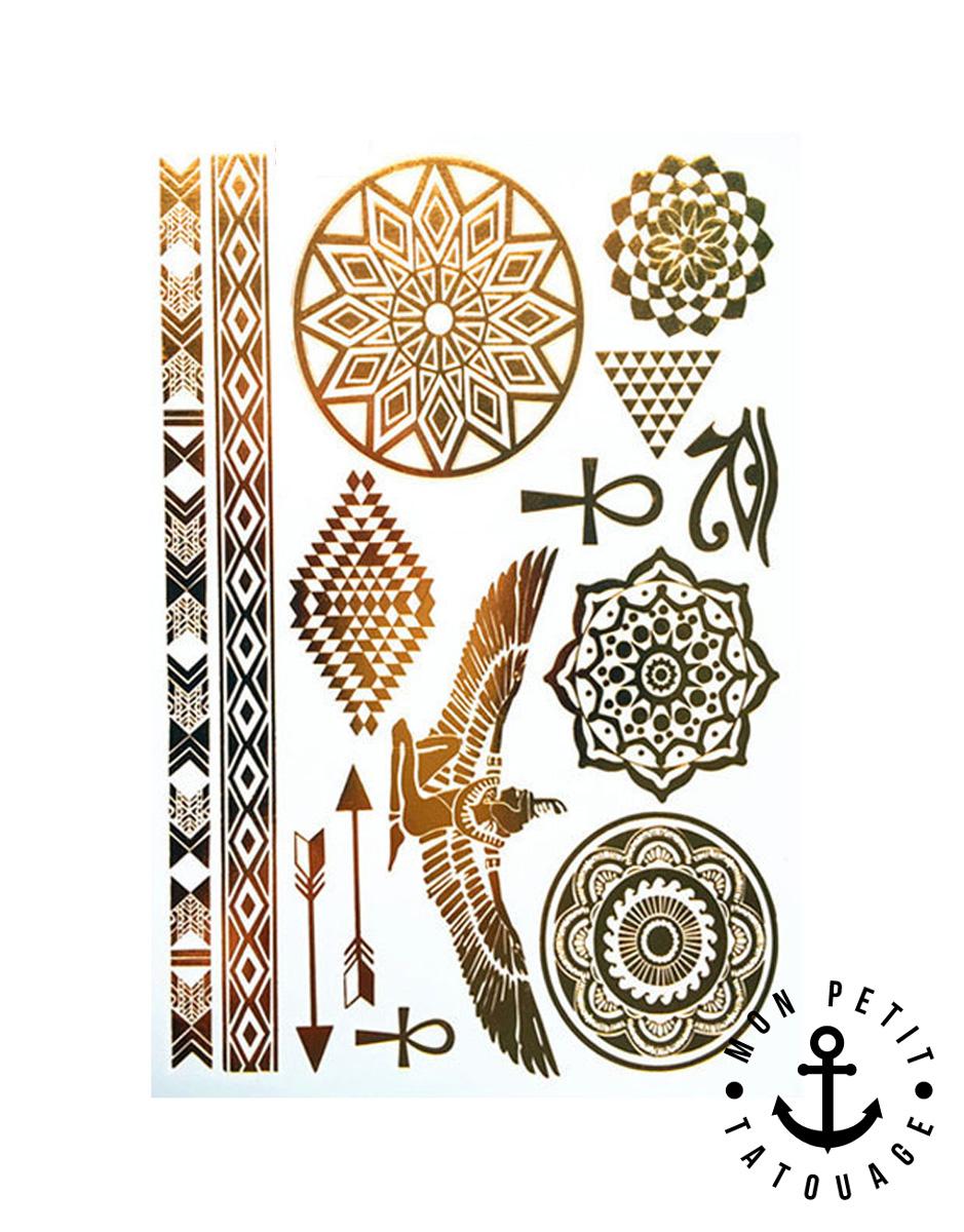 14 tatouages or gypte mandala fl ches bracelets grande plaquette mon petit tatouage. Black Bedroom Furniture Sets. Home Design Ideas