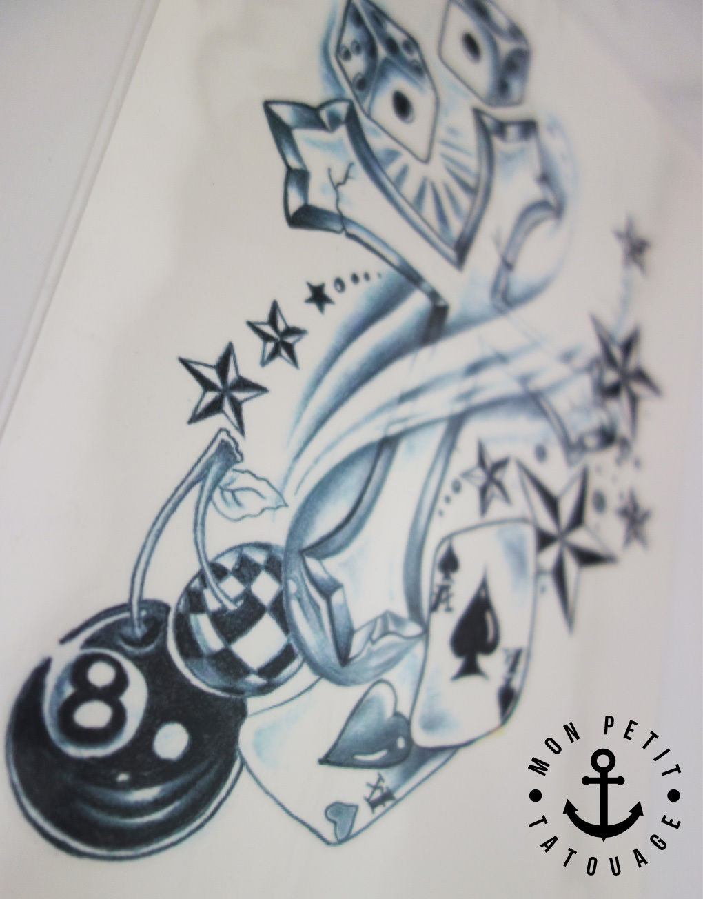 Tatouage poker