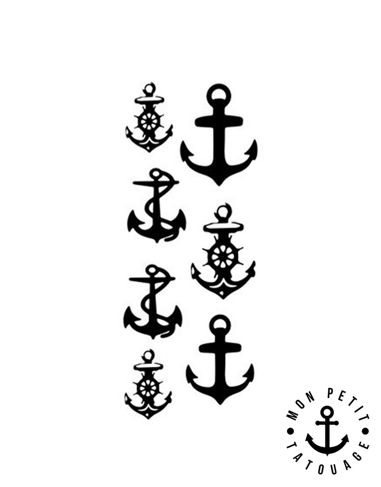 Tatouage ancre marine temporaire ph m re 7 motifs mon petit tatouage temporaire - Tatouage ancre marine signification ...