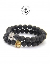 bracelet-pierres-noir-or