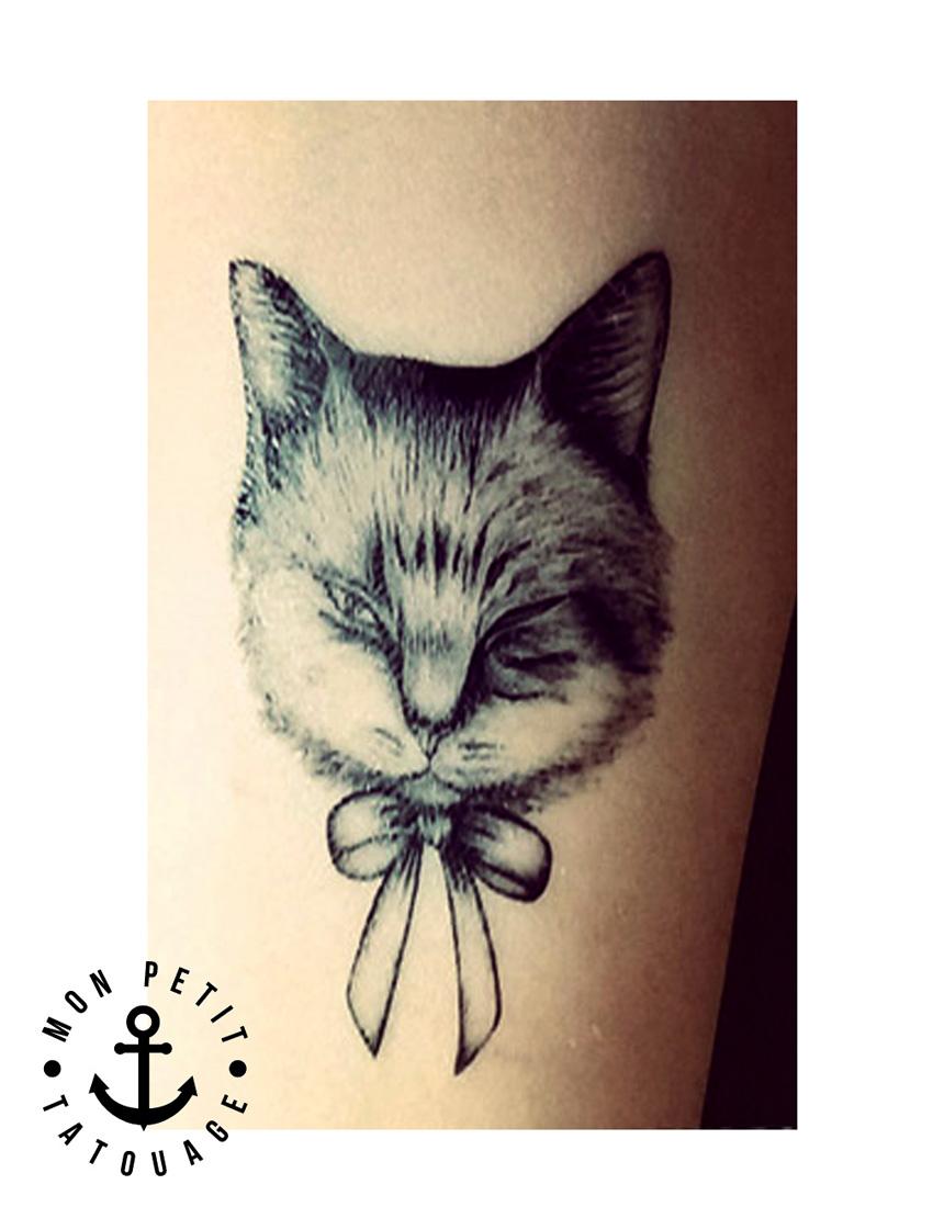 tatouage chat et chouette r aliste ph m re mon petit tatouage temporaire. Black Bedroom Furniture Sets. Home Design Ideas