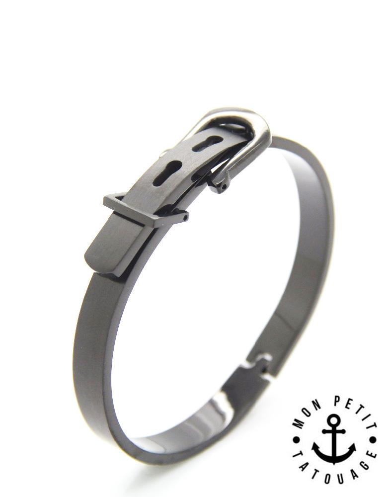 bracelet jonc boucle ceinture love or jaune or rose. Black Bedroom Furniture Sets. Home Design Ideas