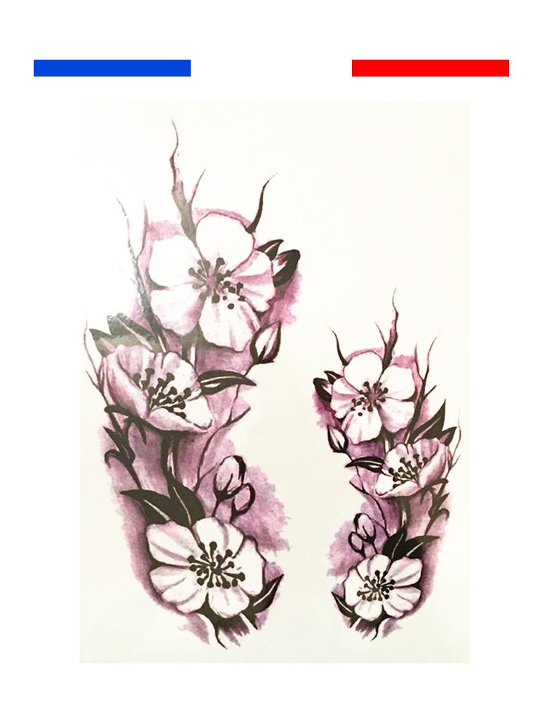 tatouage orchid e temporaire ph m re mon petit tatouage temporaire. Black Bedroom Furniture Sets. Home Design Ideas