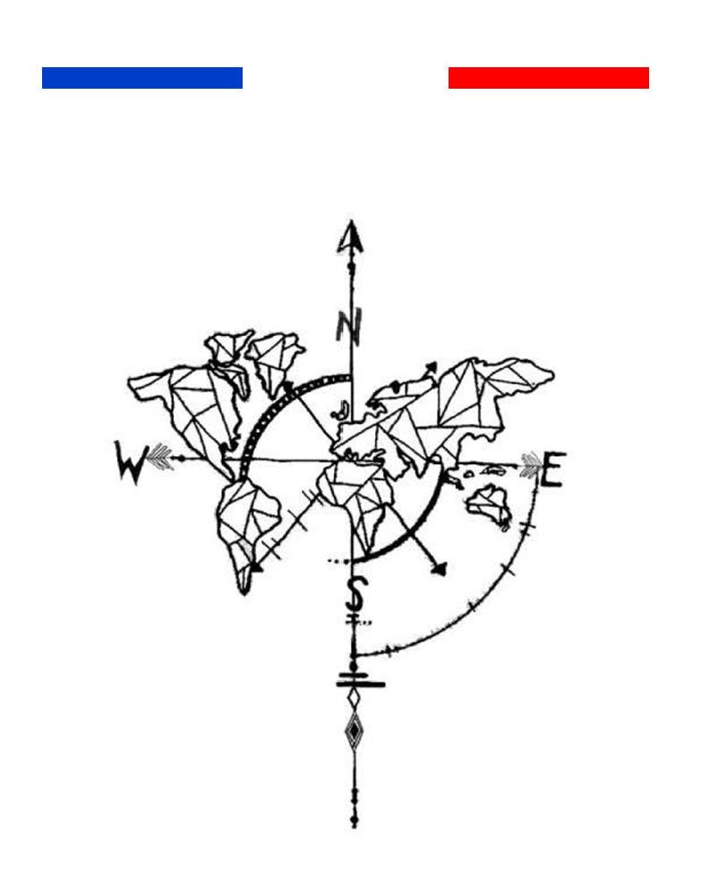 tatouage carte du monde temporaire mon petit tatouage. Black Bedroom Furniture Sets. Home Design Ideas