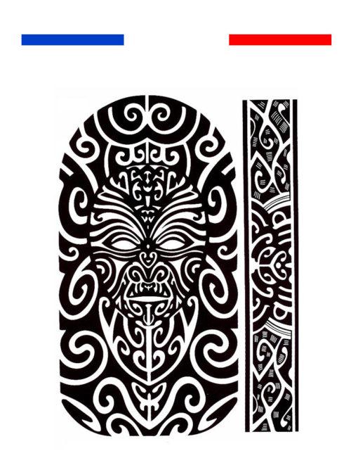 Tatouage Maori Bras Epaule Noir Mon Petit Tatouage Temporaire