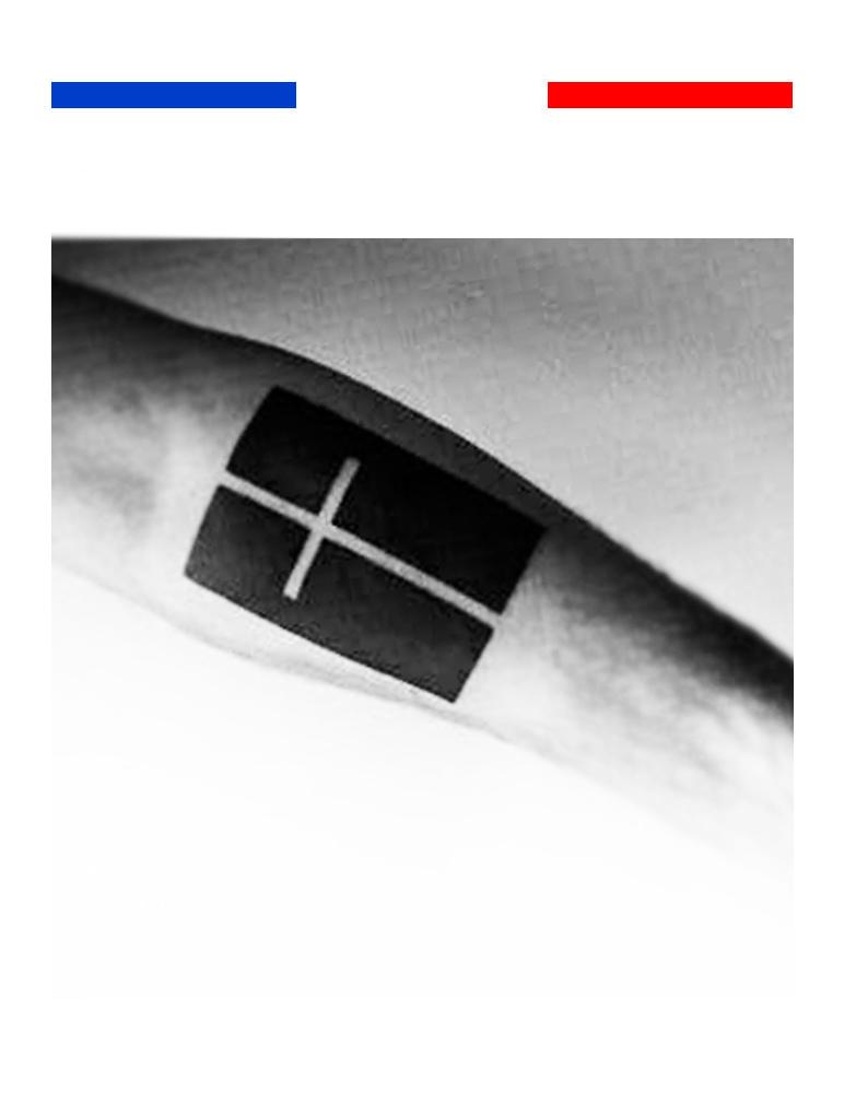 tatouage croix fond noir mon petit tatouage temporaire. Black Bedroom Furniture Sets. Home Design Ideas