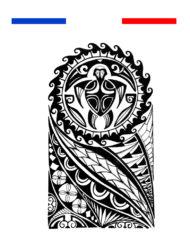 Tatouage Polynésien maori bras