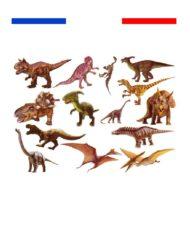 Tatouage dinosaures enfant