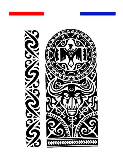 tatouage maori bracelet avant bras biceps noir mon. Black Bedroom Furniture Sets. Home Design Ideas