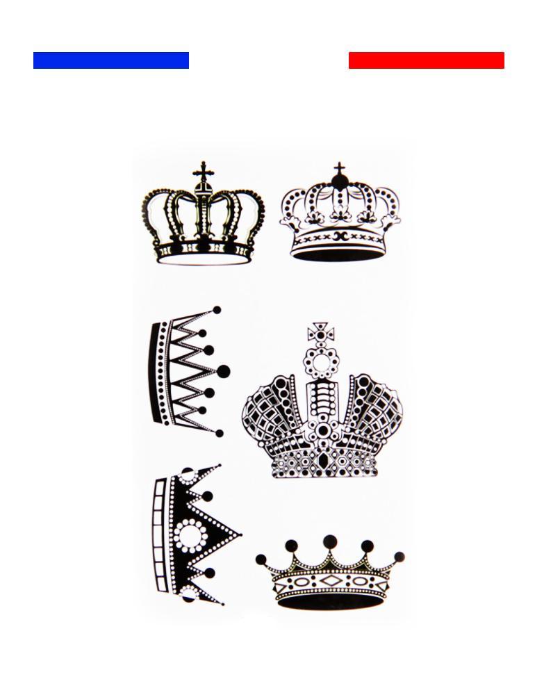 Tatouage Roi Et Reine Couronne Temporaire Mon Petit Tatouage