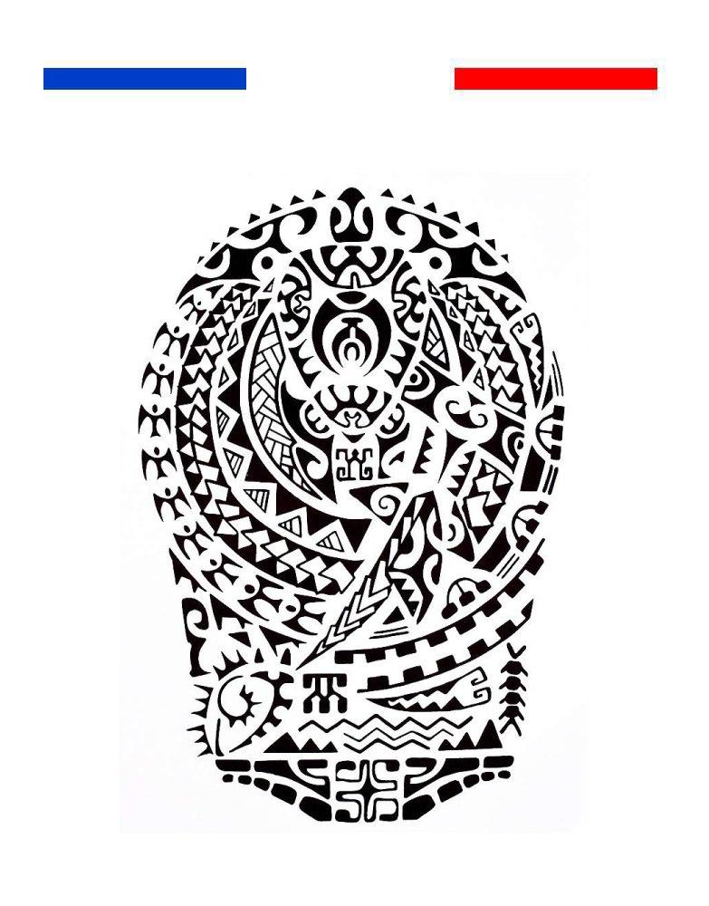 Tatouage Maori Classique Tribal Bras Biceps Noir Mon Petit